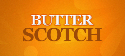 Butter Scotch Text Effect Layer Styles Added