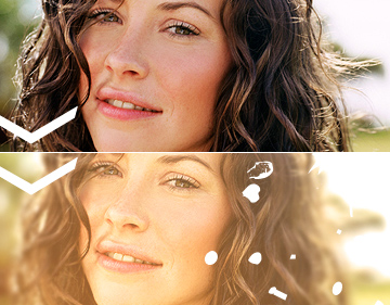 Evangeline Lilly Photoshop Tutorial
