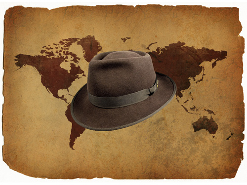 Indiana Jones' Hat Added