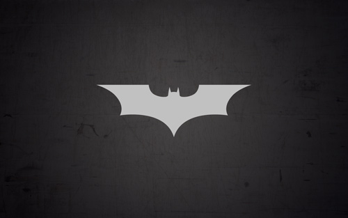 Batman Logo Traced