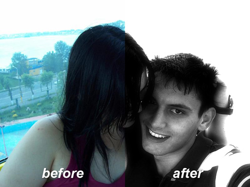 Before and After Photo Effect Tutorial