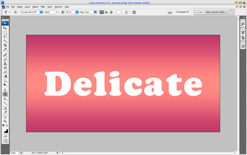 Delicate Text Effect Image 04