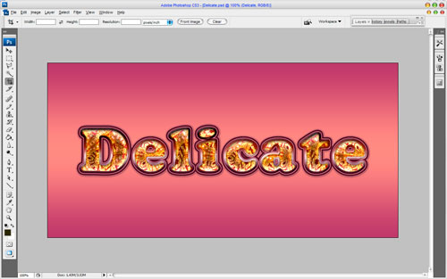Delicate Text Effect Image 15