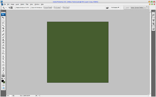 Create Military Style Texture in Photoshop 1