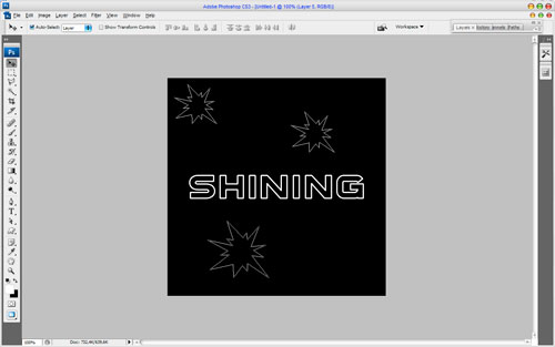 How to Make Cool Shining Effect Image 06