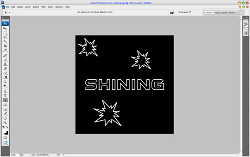 How to Make Cool Shining Effect Image 08