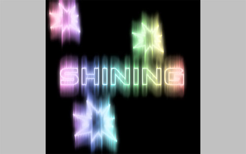 How to Make Cool Shining Effect Image 20