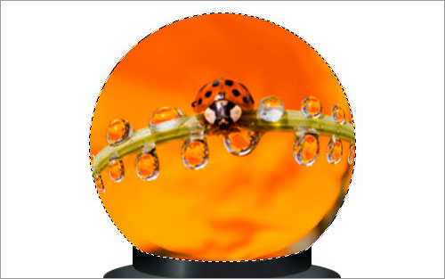 Magic Sphere With Picture Inside 14