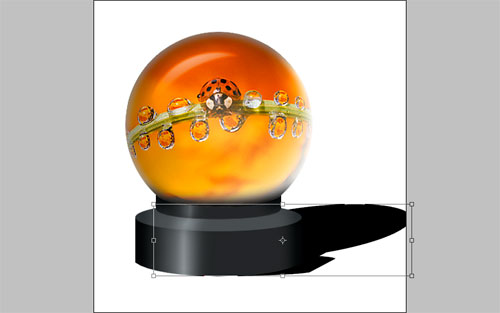 Magic Sphere With Picture Inside 27
