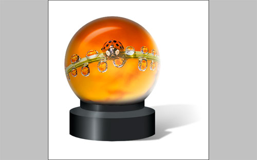 Magic Sphere With Picture Inside 28