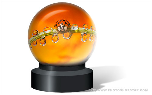 Magic Sphere With Picture Inside