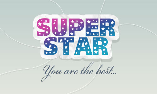 Super Star Logo 17