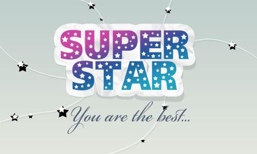 Super Star Logo 19