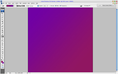 Creating Chameleon Effect Fabric Texture 01