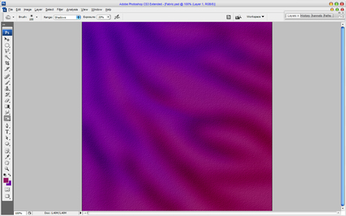 Creating Chameleon Effect Fabric Texture 05