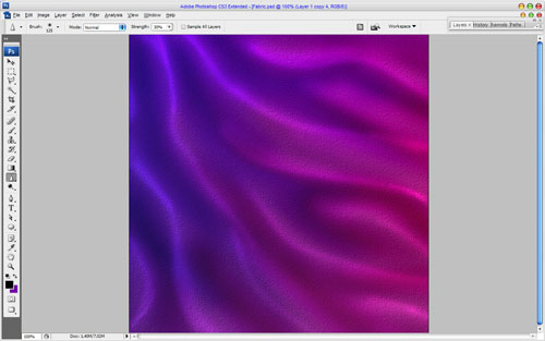 Creating Chameleon Effect Fabric Texture 11