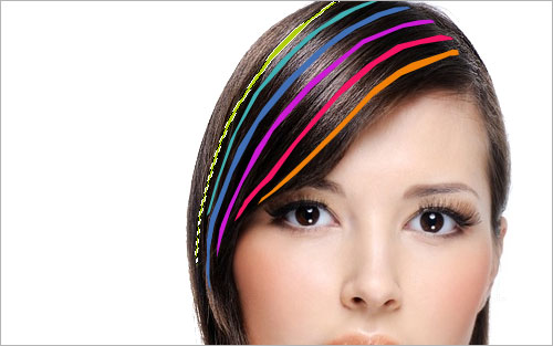 Professional Hair Processing in Photoshop 05