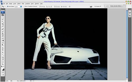 Glamorous Stylized Photo Effect 01