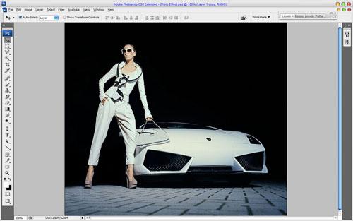 Glamorous Stylized Photo Effect 03