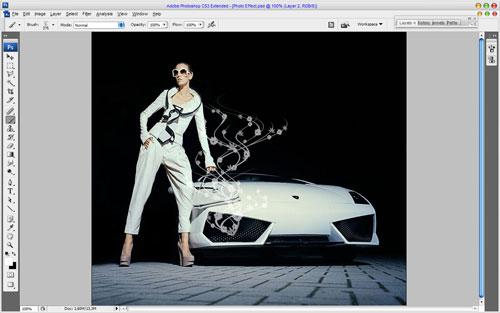 Glamorous Stylized Photo Effect 04