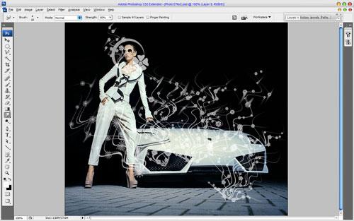 Glamorous Stylized Photo Effect 07