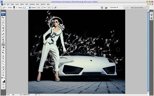 Glamorous Stylized Photo Effect 08