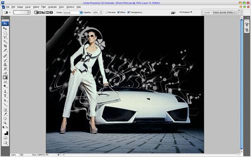 Glamorous Stylized Photo Effect 09