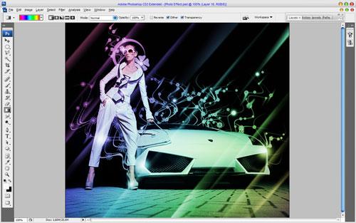 Glamorous Stylized Photo Effect 19