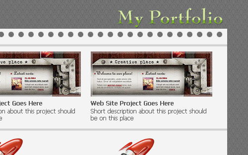 Your Own Portfolio Web Site 31