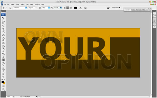 Text Effect in the Chameleon Style 15