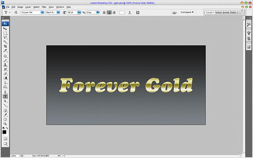 Luxury Golden Text Effect 09