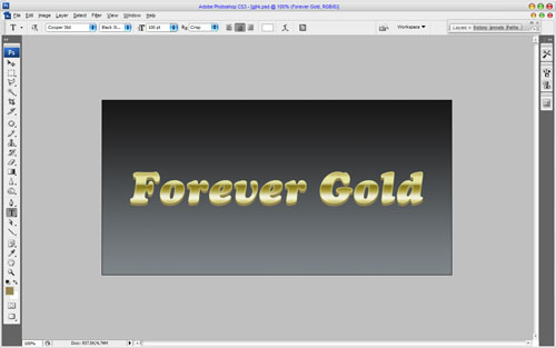 Luxury Golden Text Effect 10