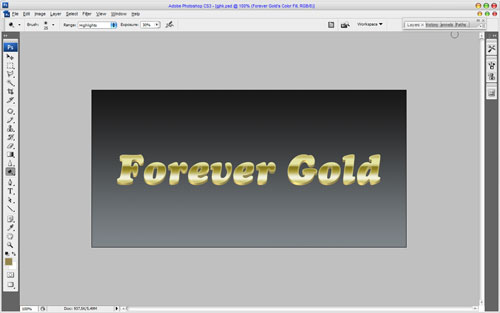 Luxury Golden Text Effect 12