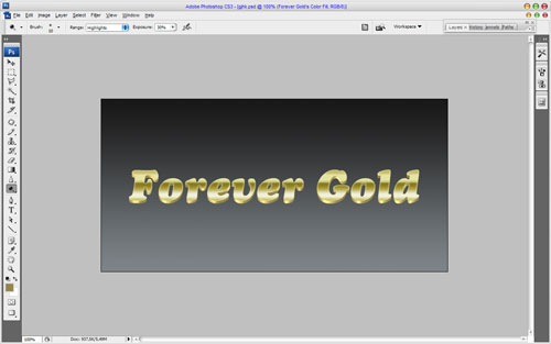 Luxury Golden Text Effect 13
