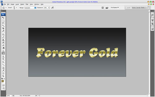 Luxury Golden Text Effect 14