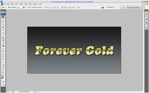 Luxury Golden Text Effect 17