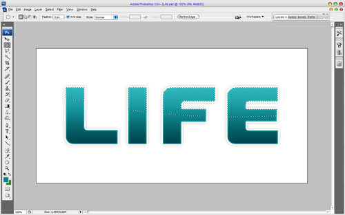 Creating Text Decoration by Mixing Two Styles 10