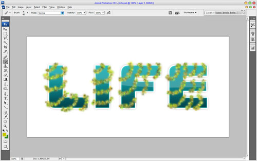 Creating Text Decoration by Mixing Two Styles 17