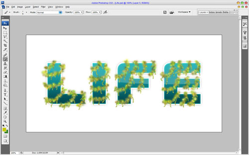 Creating Text Decoration by Mixing Two Styles 18