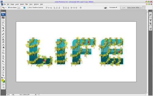 Creating Text Decoration by Mixing Two Styles 22