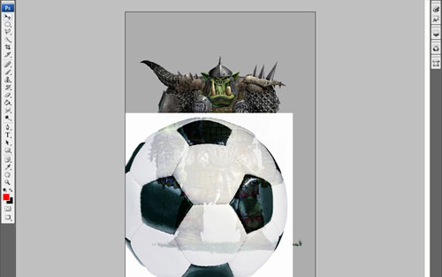 Creating Football Fan from Orc