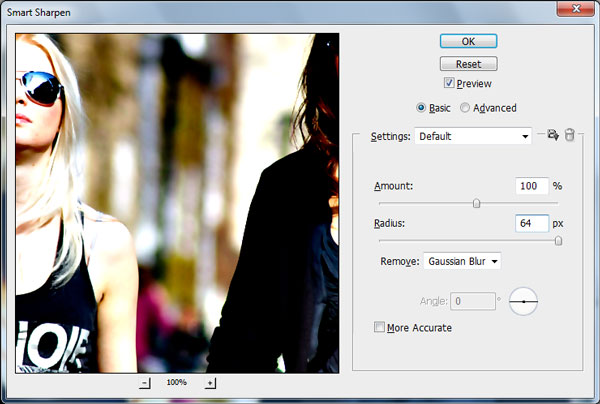 Creating Fashion Contrast Photo Effect 4