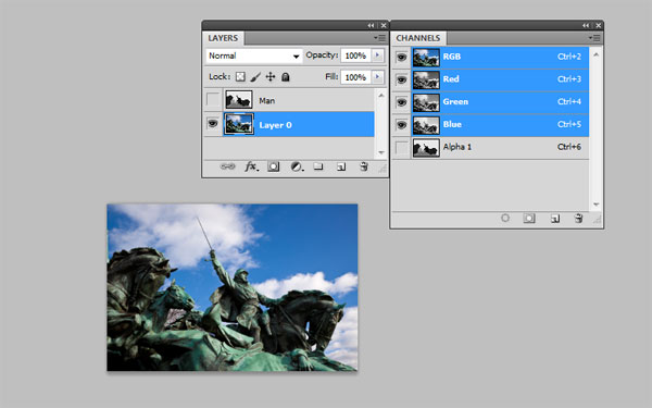 Creating Focus on the Photo by Using Blur Map 16