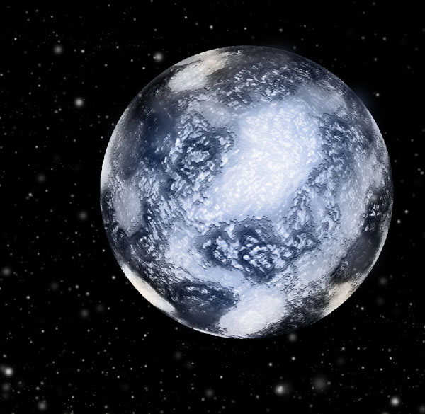 How to Create Ice Planet 40