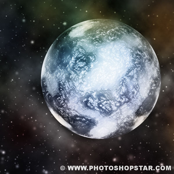 How to Create Ice Planet