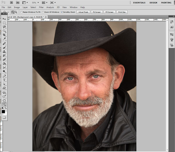 How to Make Facial Retouching in Photoshop 1