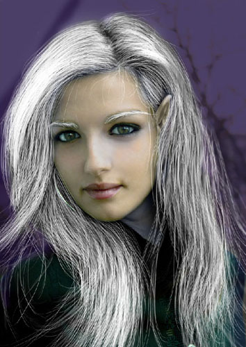 Transform Female into Dark Elf 32