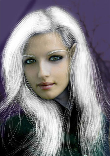 Transform Female into Dark Elf 33