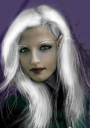 Transform Female into Dark Elf 34