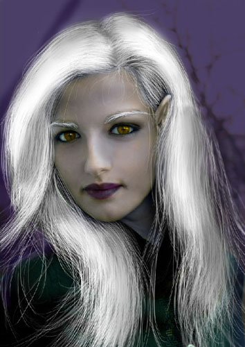 Transform Female into Dark Elf 35